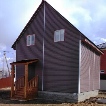 Купить дом из бруса в Раменском районе с. Михайловская Слобода