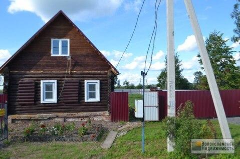 Жилой дом в д. Калеево Волоколамского района. Газ по границе