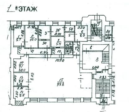 Офис на Глинищевском, 202,5 м/кв