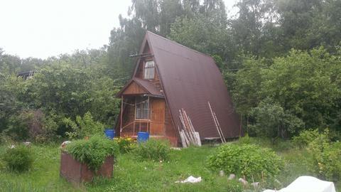 Продается участок 6 сот. с домом ~40 кв.м. с печкой