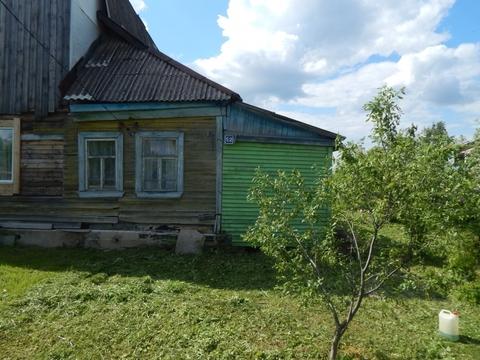 Часть дома с участком под материнский капитал в деревне Вешки