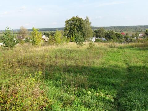 Продается земельный участок в с .Горы Озерского района