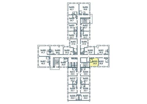 Москва, 1-но комнатная квартира, ул. Радиальная 6-я д.7, к 35, 2732010 руб.