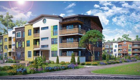 1-к квартира, ул.Нагорная, площадь 36.07, корпус 1, секция 3, этаж 2
