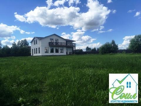 Дом 270 м2 на земельном участке 19 соток Чеховский район