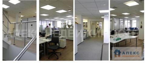 Аренда офиса 225 м2 м. Добрынинская в бизнес-центре класса В в .