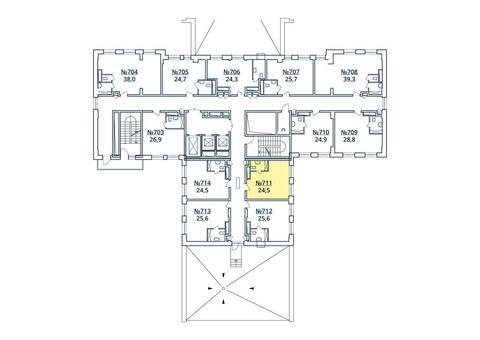 Москва, 1-но комнатная квартира, ул. Радиальная 6-я д.7, к 35, 2751252 руб.