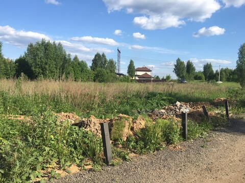 Земельный участок 10 соток, д. Каменка, 40 км от МКАД