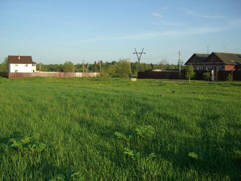 Продается большой участок в деревне Рождествено, Рузский р.