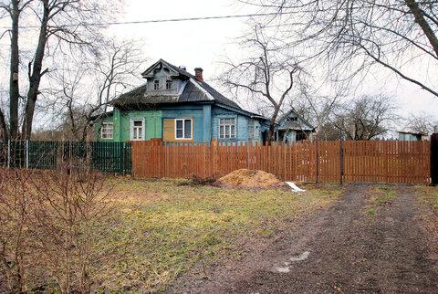 Д. Фроловское, Истринский район, 11 соток и бревенчатый дом