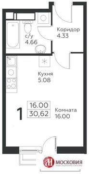 Коммунарка, 1-но комнатная квартира, ул. Ясная д.1, 3850000 руб.