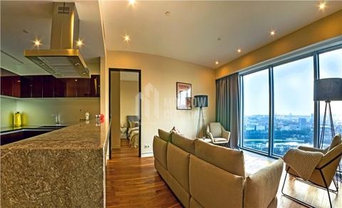 Односпаленный апартамент в Башне Око 84 м2 30 эт