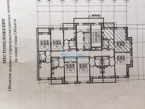 Продается однокомнатная квартира 42 кв.м на 8 этаже 17-ти этажного МО