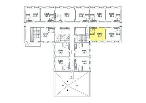 Москва, 1-но комнатная квартира, ул. Радиальная 6-я д.7, к 35, 3043619 руб.