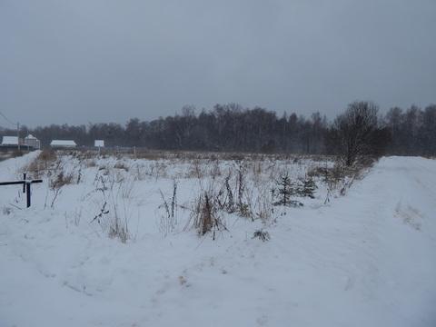 Участок 10 соток близ д.Ожигов в 400 м от Москва реки.