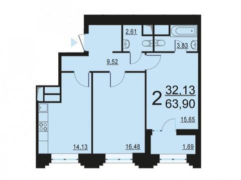 Москва, 2-х комнатная квартира, ул. Берзарина д.28, 12432192 руб.