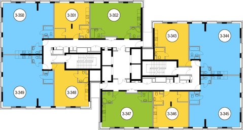 Москва, 2-х комнатная квартира, Головинское ш. д.10, 12361500 руб.