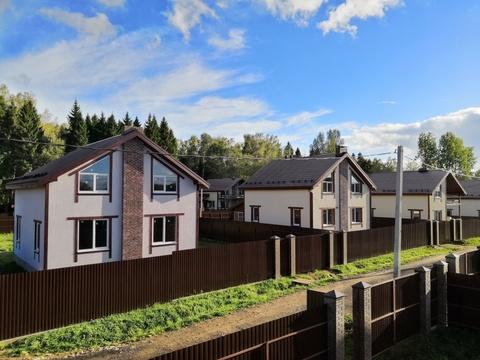 Продаётся новый дом 160 кв.м с участком 9.47 соток-35 км от МКАД