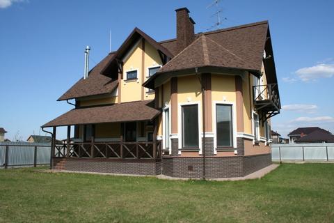 Загородный дом 250 кв м с гаражом, Киевское ш, 19 км от МКАД, охрана