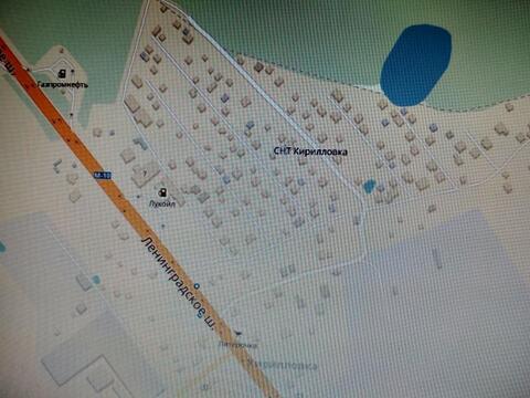 СНТ «Кирилловка» рядом с деревней Кирилловка
