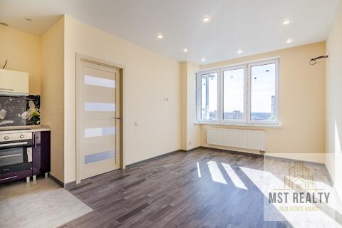 Двухкомнатая квартира со свежим ремонтом в новом ЖК Краски жизни