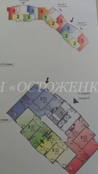 3-комнатная квартира, 82 кв.м., в ЖК «Бунинский»