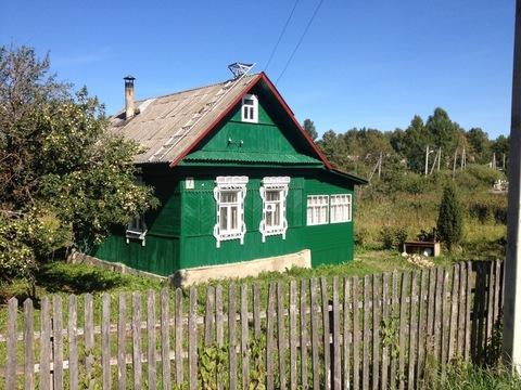 Деревянный дом в пгт Уваровка, МО, Можайский р-н.