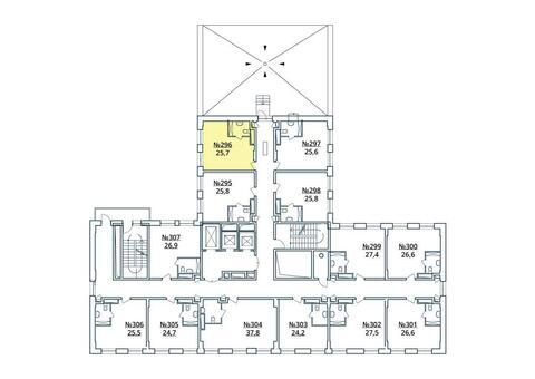 Москва, 1-но комнатная квартира, ул. Радиальная 6-я д.7, к 35, 2979683 руб.