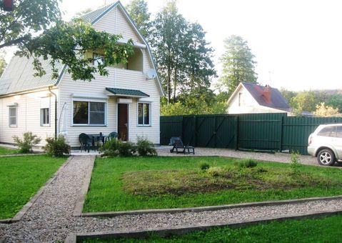 Продается двухэтажная дача 100 кв.м, на участке 6 соток
