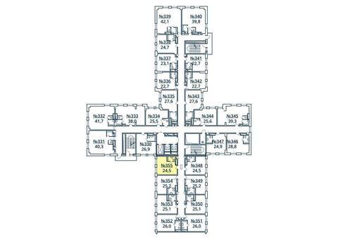 Москва, 1-но комнатная квартира, ул. Радиальная 6-я д.7, к 35, 2769601 руб.