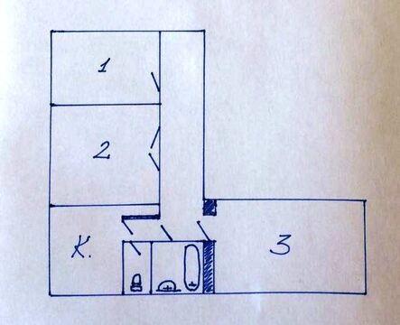 3 ком. квартира, м. Белорусская или м. Динамо, 15 мин пешком