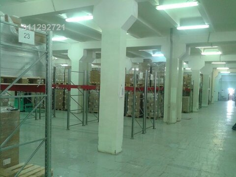 М. нагатинская. Сдается складское помещение, 2500 м2, этаж 2,  500