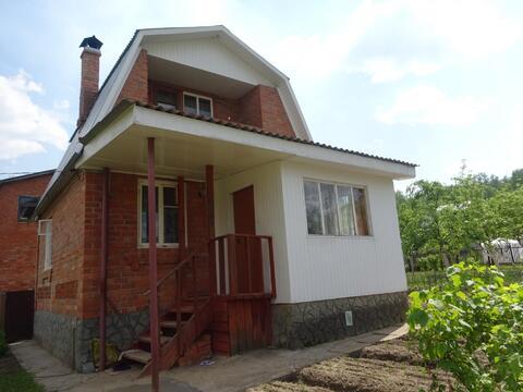 Продам 2-х эт. кирпичную дачу 70 кв. м. в 5 км от Серпухова, в районе