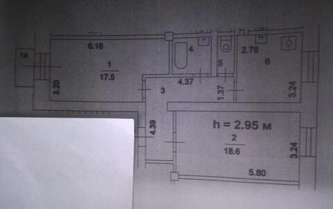 Продажа 2-комнатной квартиры в 2-х мин. от м. Автозаводская