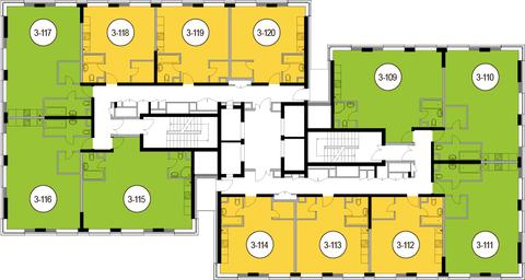 Москва, 2-х комнатная квартира, Головинское ш. д.10, 11352000 руб.