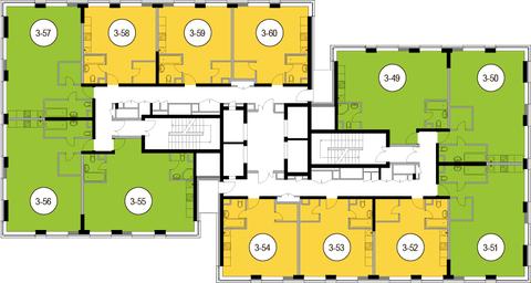 Москва, 2-х комнатная квартира, Головинское ш. д.10, 10857000 руб.