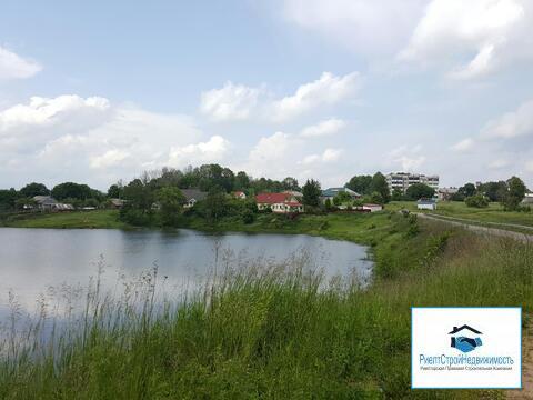 Участок ИЖС на берегу озера