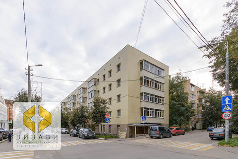 2к квартира 40,4 кв.м. Звенигород, ул. Ленина, 13, самый центр