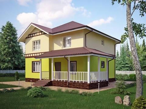 Роскошный дом, 205м2 Раменский р-он, кп Кузнецовское подворье
