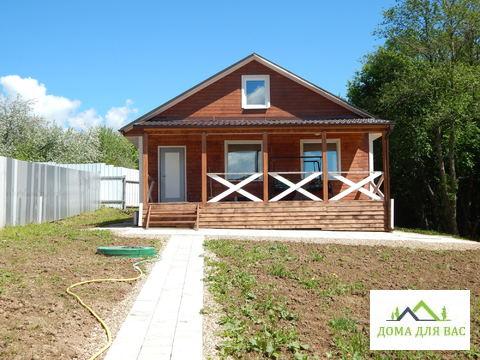 Новый дом 140кв.16 сот д.Лашино 200 м от Рузского вдх