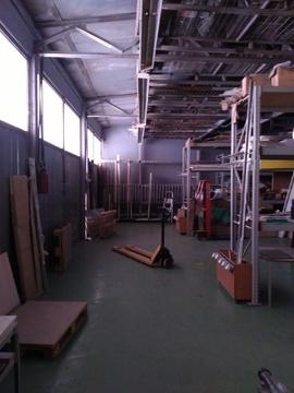 Производство-склад 500 кв.м, пандус