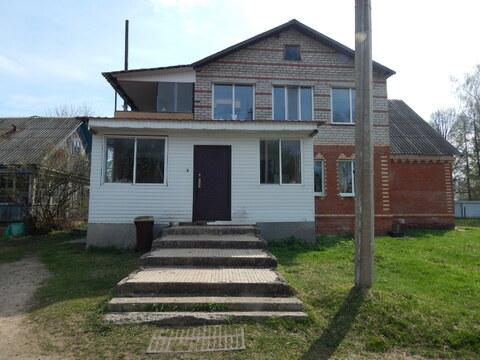 Цена снижена! Кирпичный 2 этажный дом в д.Лобково.