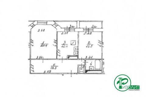 Москва, 2-х комнатная квартира, ул. Большая Академическая д.дом 24, корп. 3, 16000000 руб.
