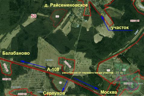 Земельный участок в д.Райсеменовское
