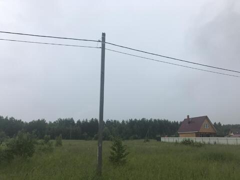 15 соток Московская область, Воскресенский район, пос. им. Цюрупы, ул.