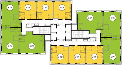 Москва, 2-х комнатная квартира, Головинское ш. д.10, 11253000 руб.