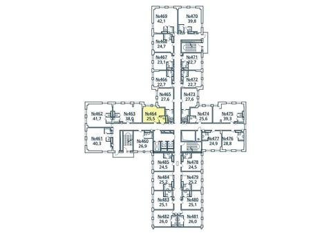 Москва, 1-но комнатная квартира, ул. Радиальная 6-я д.7, к 35, 2851808 руб.
