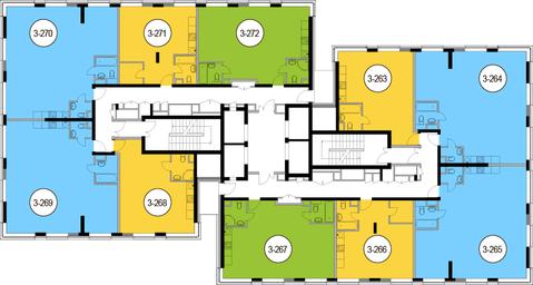 Москва, 1-но комнатная квартира, Головинское ш. д.10, 8820100 руб.