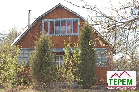 Дача с баней в Серпуховском р-не, р-он деревни Калугино, 70 км от МКАД