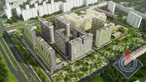 Москва, 1-но комнатная квартира, Дмитровское ш. д.107 К2Г, 3711627 руб.